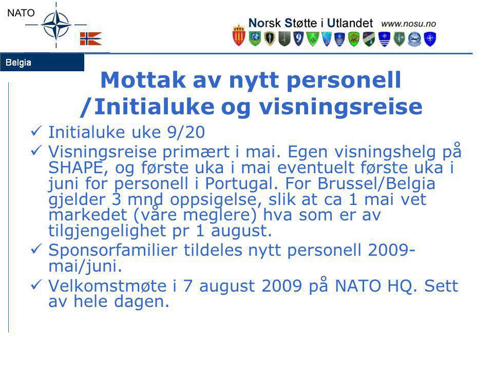 Helse/forsikring  Europeisk helsetrygdekort – bestill eller ta med E-111 fra Norge  Helseforsikring/sykehusforsikring – poc Gunvor (folketrygden/Euromut/Bupa)  Andre private forsikringer som skade-/livsforsikring, reiseforsikring, innboforsikring, bilforsikring, rettshjelpforsikring etc- tenk gjennom egne behov  Lovpålagt leietagers husforsikring i Belgia – denne dekker arbeidsgiver/lokal forvaltning.