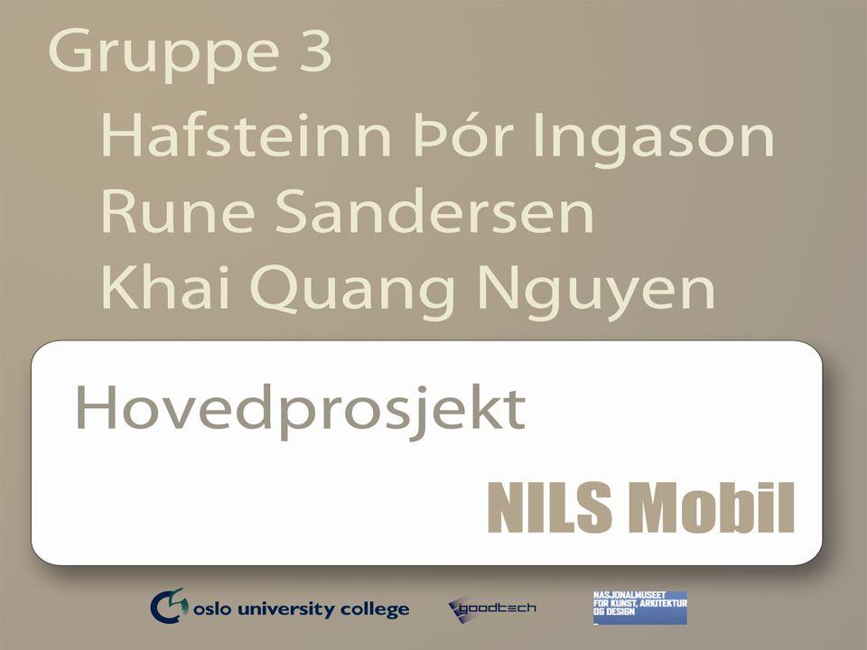 Oppdragsgiver og Kunde  Goodtech  Norsk teknologi og ingeniørkonsern  Over 1400 ansatte  En av Nordens ledende automatiseringsentreprenører  Nasjonalmuseet  Kunst, arkitektur og design