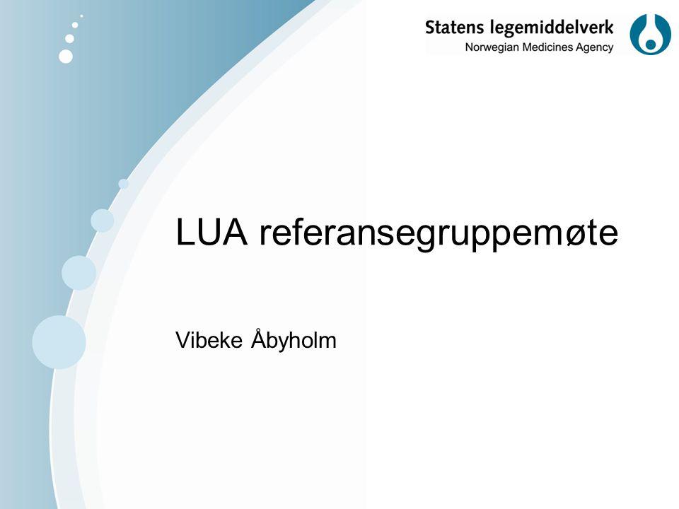LUA referansegruppemøte Vibeke Åbyholm