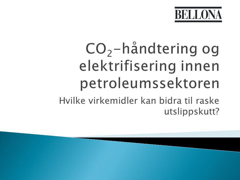 Hvilke virkemidler kan bidra til raske utslippskutt?