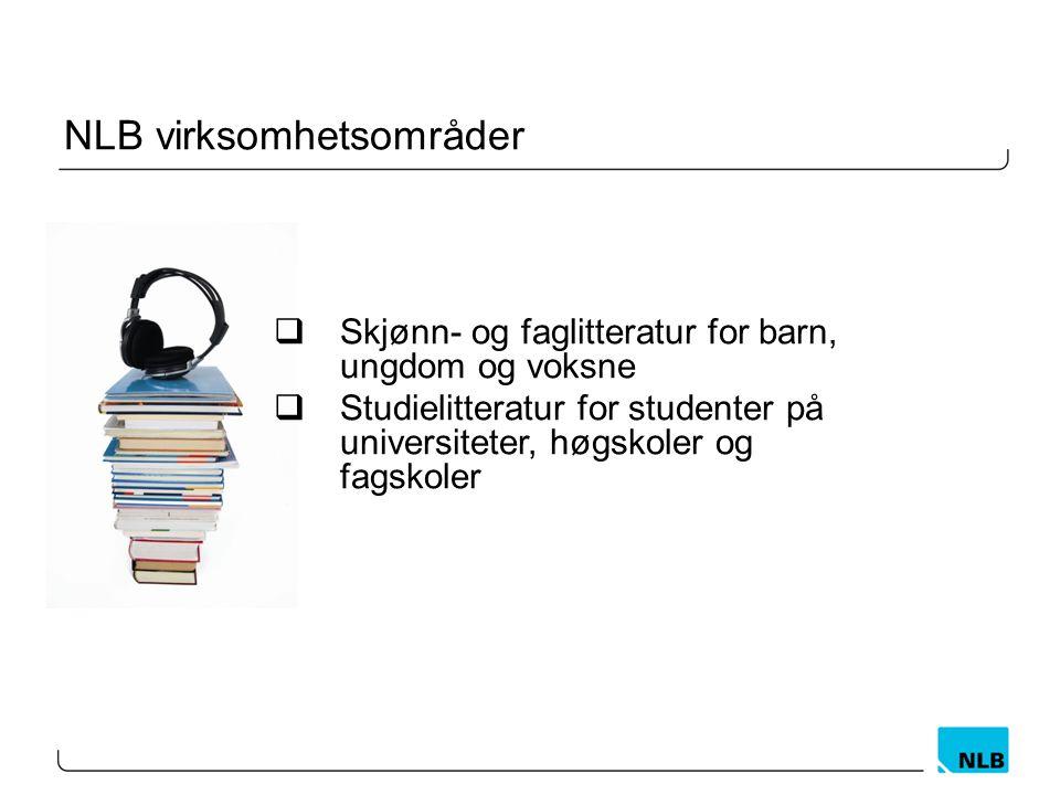 Behov for å få mer informasjon NLB vedtak i 2012: Behov for mer informasjon for å gjøre riktige beslutninger Mål: Kartlegge studentenes hverdag og vei gjennom studiene.