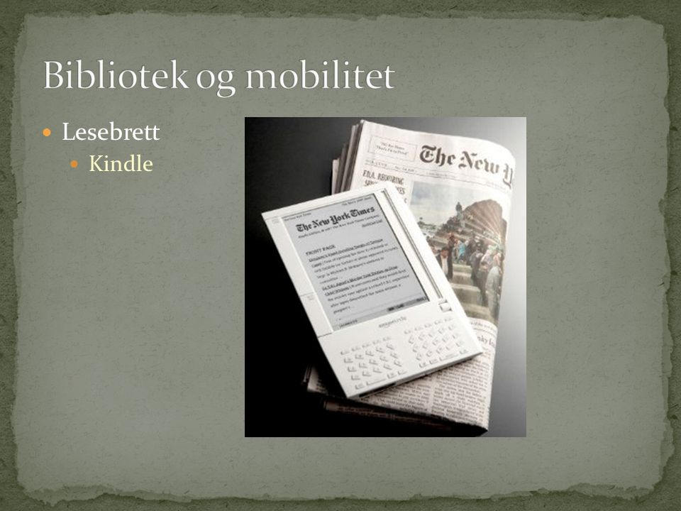  Lesebrett  Kindle