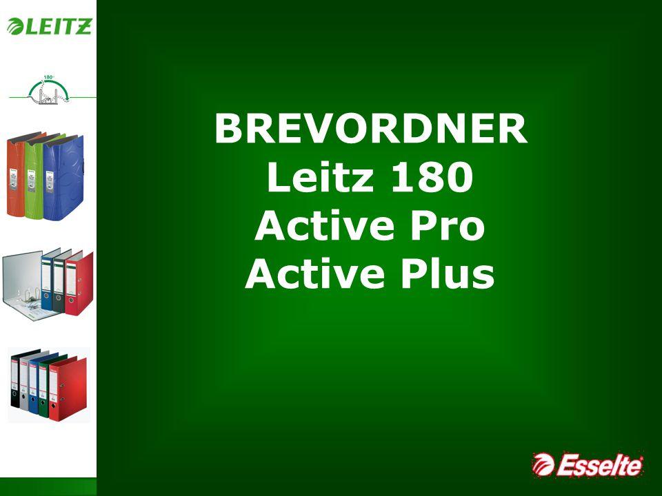 Page 1 Leitz 180 – Active Pro – Active Plus BREVORDNER Leitz 180 Active Pro Active Plus