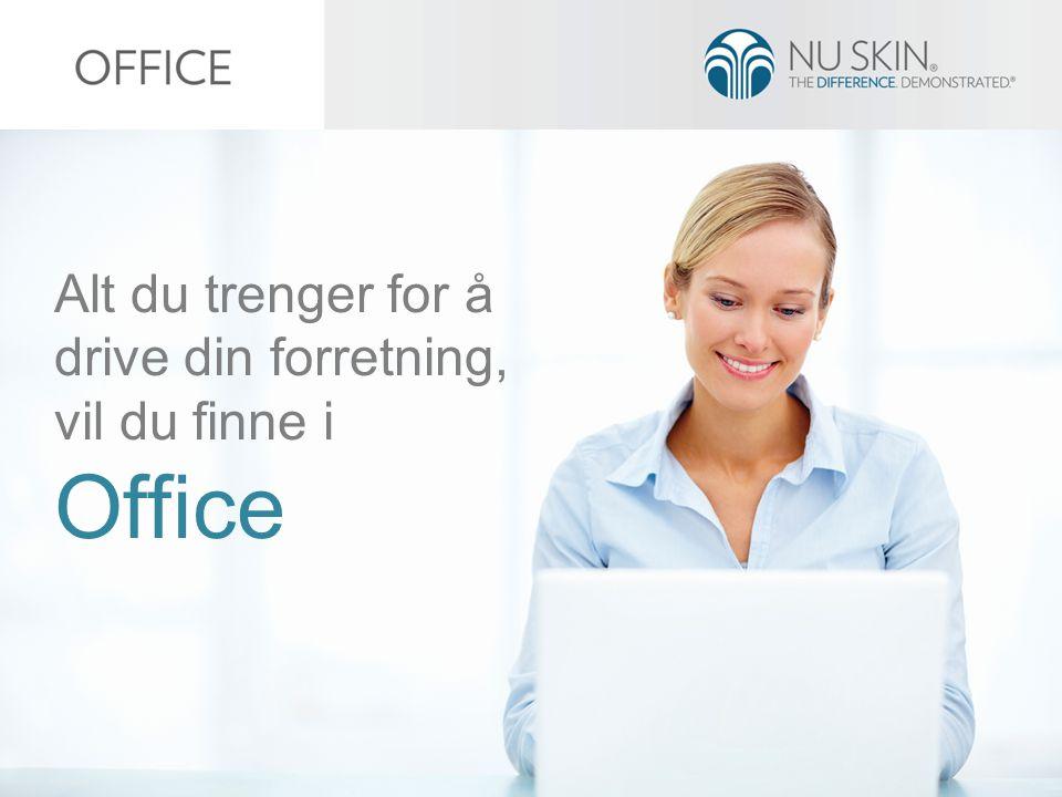 Alt du trenger for å drive din forretning, vil du finne i Office