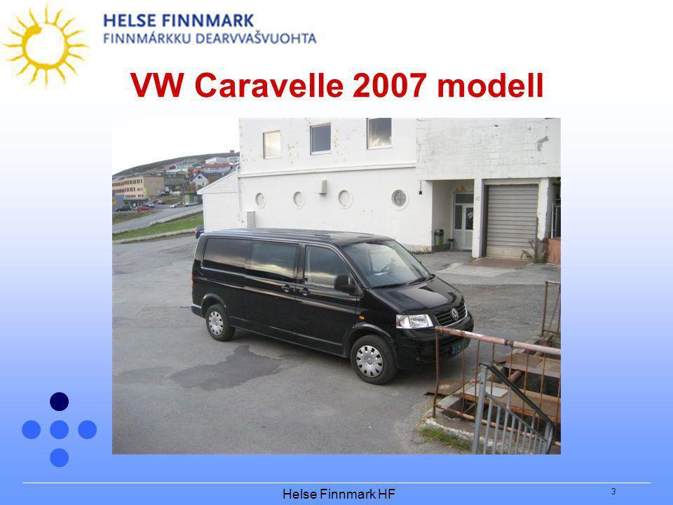 Helse Finnmark HF 3 VW Caravelle 2007 modell