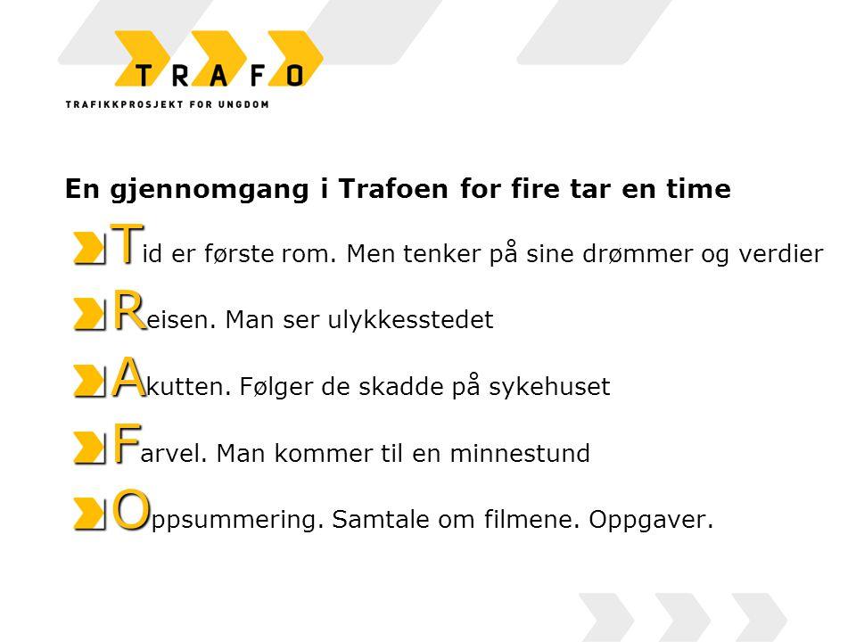 En gjennomgang i Trafoen for fire tar en time T T id er første rom.