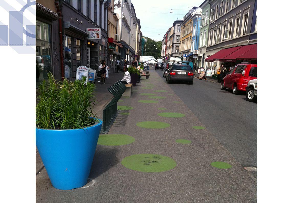 Ring 2 Blindernveien til Vogts gate Etablere sykkelfelt Etablere kollektivfelt Styrke viktig grønn korridor Ådt: 14.100 – 22.600 12 kryss Kostnadsoverslag 350.