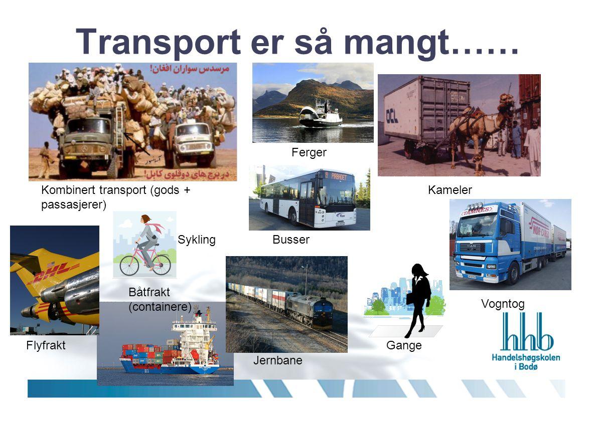 Det er mye som skal fraktes…… og mye, mye mer……… Turister Melk Søppel Dyr Post Dette er også transport..