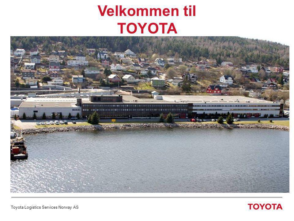 TOYOTA NORGE AS TOYOTA i verden  Etablert 1937  Hovedkontor Toyota City (200.000 innbyggere)  Verdens nest største bilprodusent  Omsetning 2006 NOK 1.300 milliarder  285.000 ansatte på verdensbasis  Bilsalg 2007 – 9,5 mill.