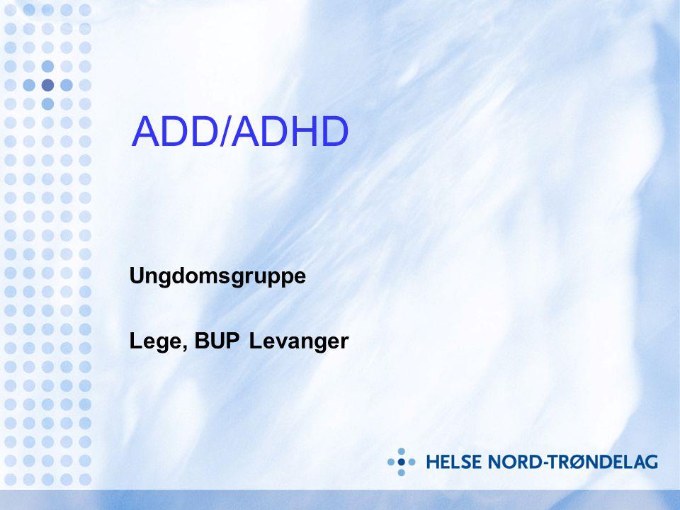 Fysisk aktivitet • Fysisk aktivitet hjelper personer med ADHD • Hjelper på konsentrasjonen • Reduserer uro