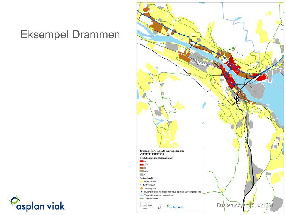 Eksempel Drammen Buskerudbyen 15. juni 2011