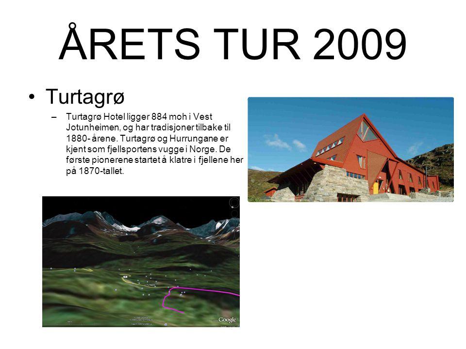 ÅRETS TUR 2009