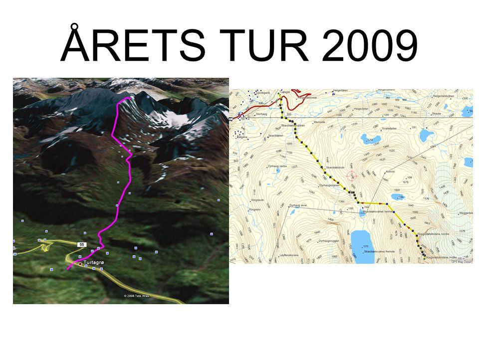 •Lørdag Alternativ: – Nordre Skagastølstind (2167m) –Skagastølsnebbet (2222m) –(Midtre Skagastølstind (2284m)) (Klatring) •12.1Km T/R