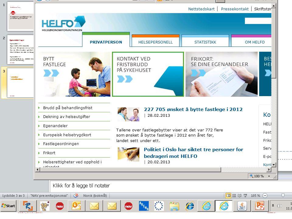 NAV, 04.07.2014Side 3  www.helfo.no www.helfo.no  www.pasientreiser.no www.pasientreiser.no