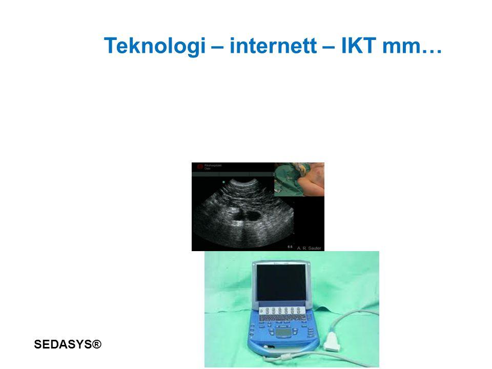 Teknologi – internett – IKT mm… SEDASYS®