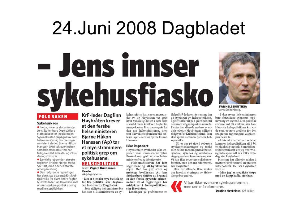 24.Juni 2008 Dagbladet