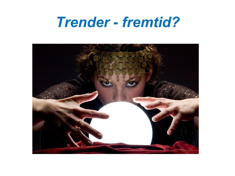 Trender - fremtid?