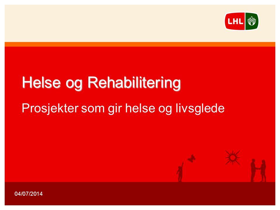11 Landsforeningen for hjerte- og lungesyke 1 Helse og Rehabilitering Helse og Rehabilitering Prosjekter som gir helse og livsglede 04/07/2014