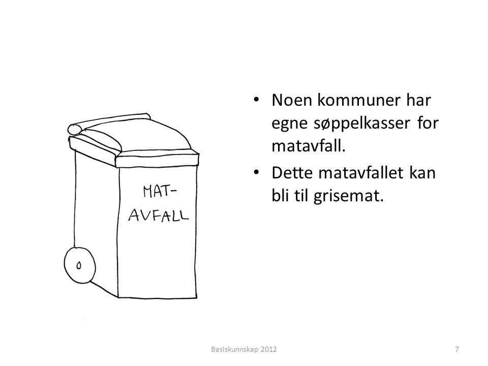 Kan du finne et synonym? • uren •?•? • skitten Basiskunnskap 201218 farlige sjø søppel skitten