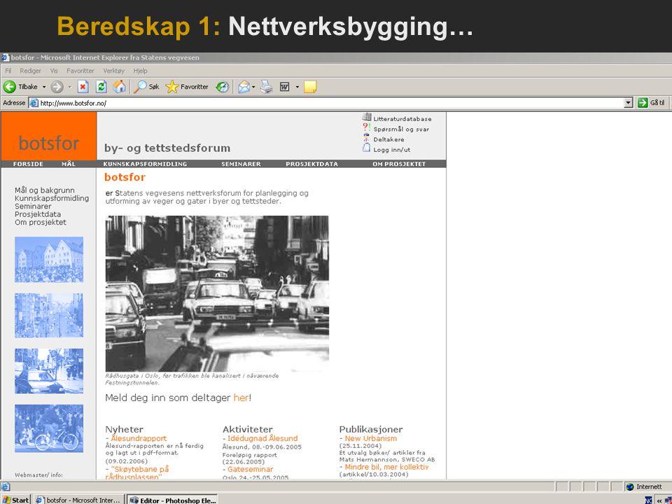 Beredskap 1: Nettverksbygging…