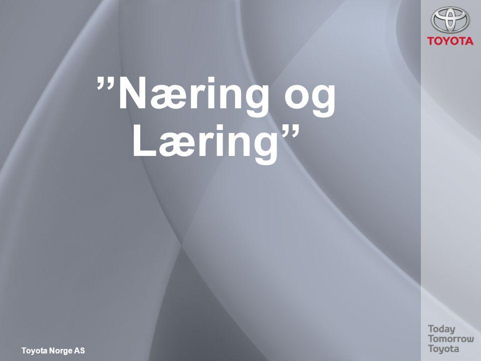 Toyota Norge AS Næring og Læring
