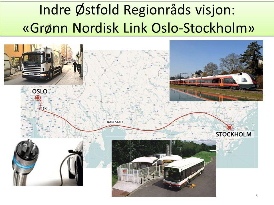 Indre Østfold Regionråds visjon: «Grønn Nordisk Link Oslo-Stockholm» 3