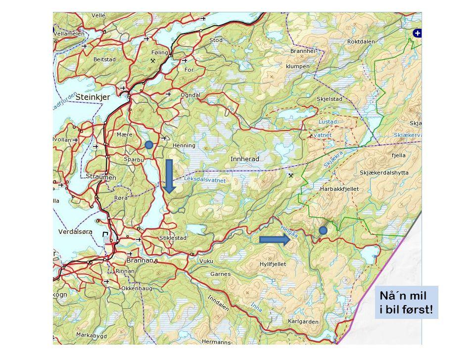 P Klokka 10:30 var vi på vei Skjækerfossen