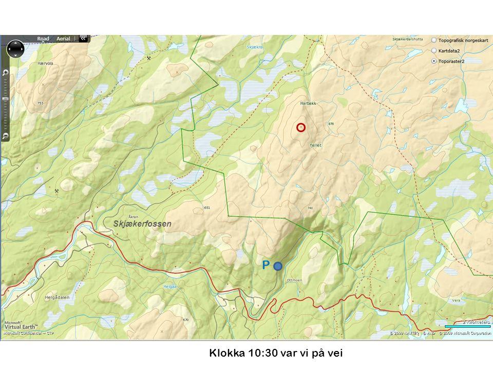 870m.o.h.Turleia sånn cirka, inntegna uten data fra GPS Grei beskjed.
