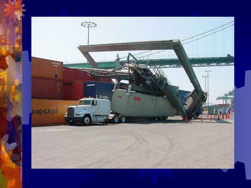 Etersom i nå hadde erfaring med vann, fikk i begyne på en konteiner-kran ved havnen.