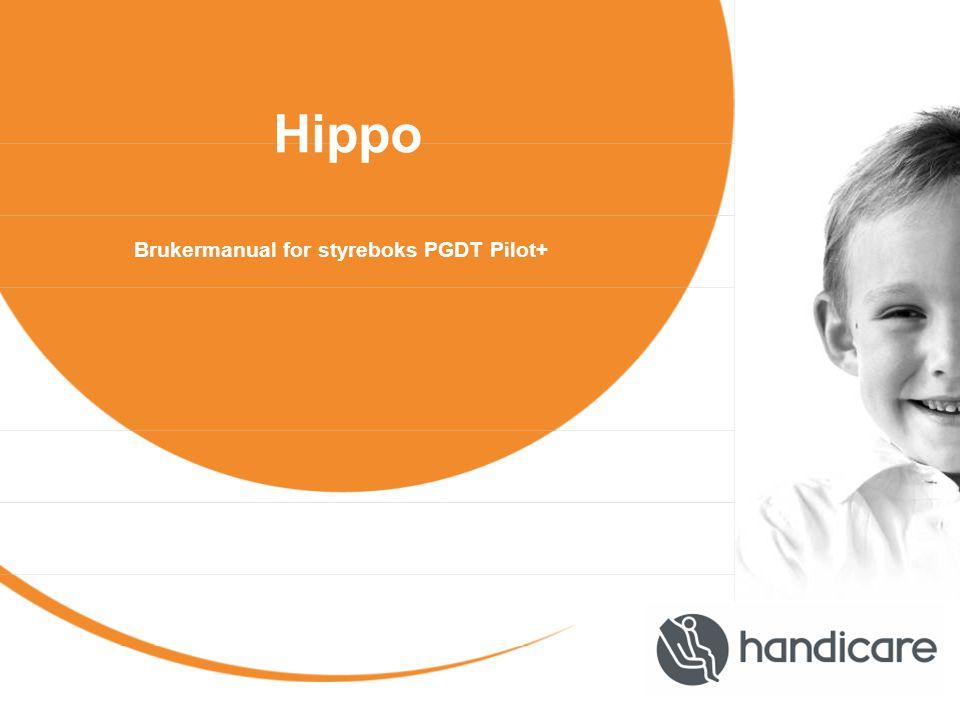 Hippo Brukermanual for styreboks PGDT Pilot+