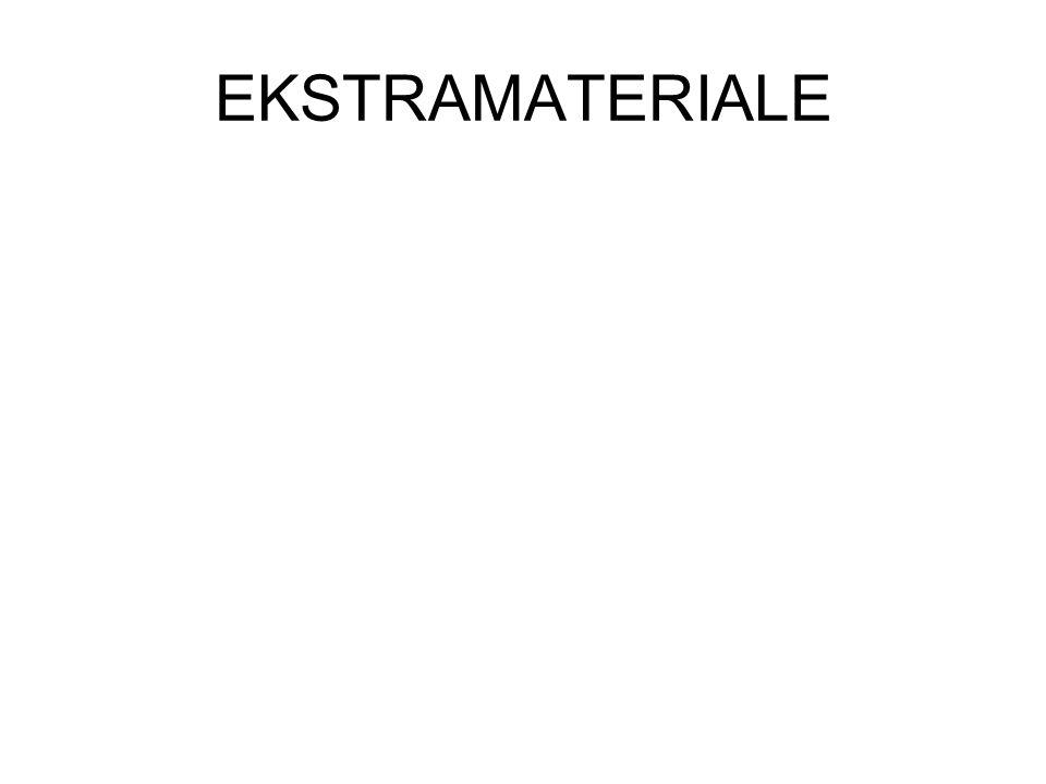 EKSTRAMATERIALE