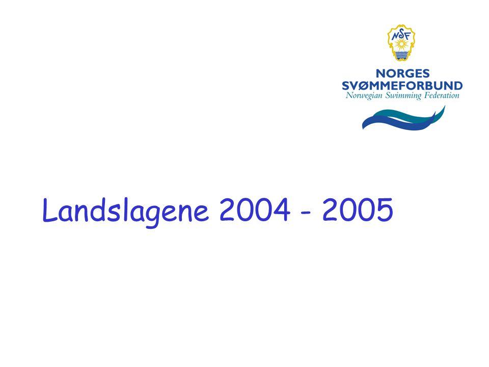 Landslagene 2004 - 2005