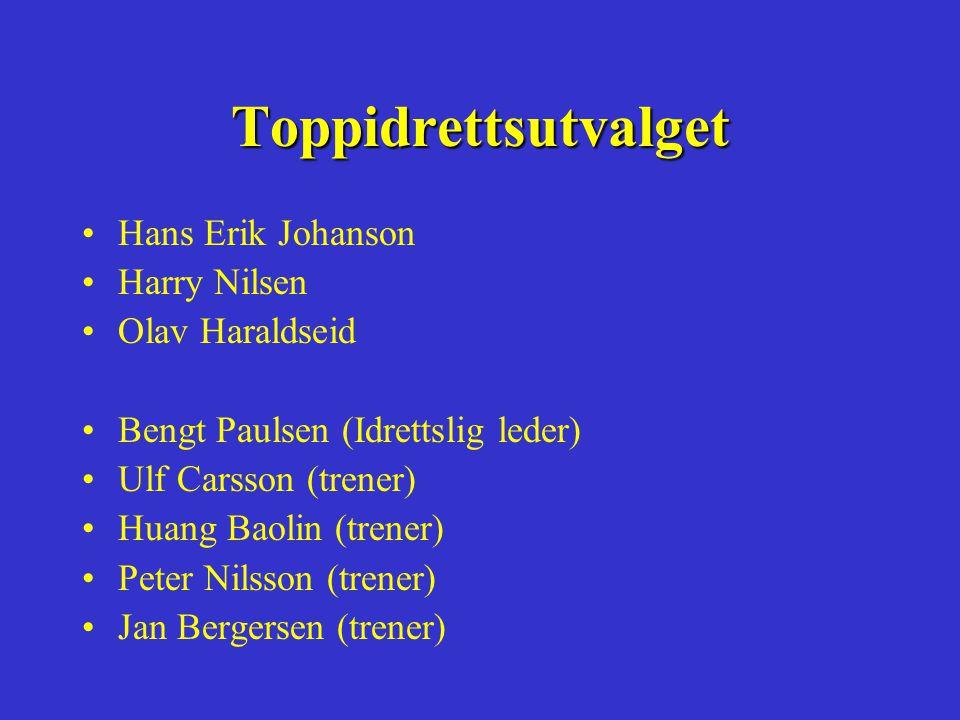 Toppidrettsutvalget •Hans Erik Johanson •Harry Nilsen •Olav Haraldseid •Bengt Paulsen (Idrettslig leder) •Ulf Carsson (trener) •Huang Baolin (trener) •Peter Nilsson (trener) •Jan Bergersen (trener)