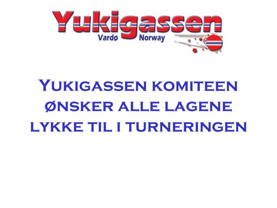 Yukigassen komiteen ønsker alle lagene lykke til i turneringen