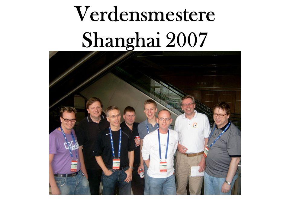 Verdensmestere Shanghai 2007