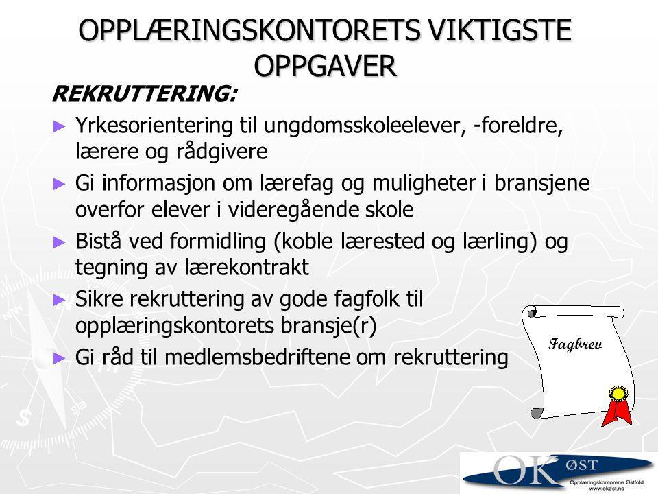 Konkurranser; Lokale og regionale yrkes-mesterskap; Østfold-mesterskap, Østlands-mesterskap, NM/Skills Norway og World Skills.
