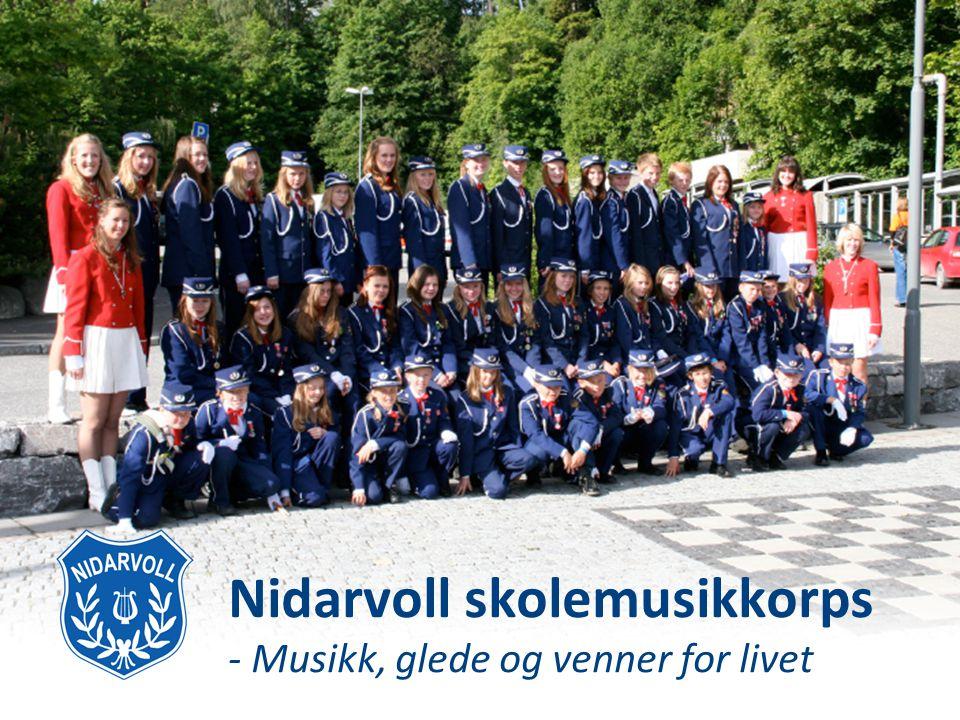 Nidarvoll skolemusikkorps - Musikk, glede og venner for livet