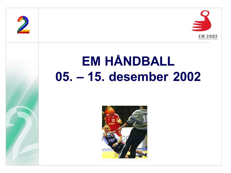 EM HÅNDBALL 05. – 15. desember 2002