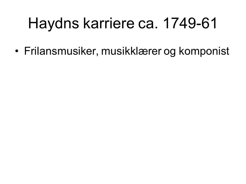 •Frilansmusiker, musikklærer og komponist