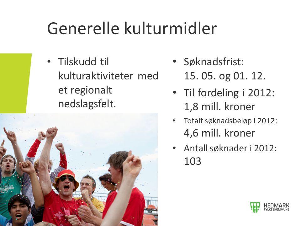 Scenekunst i Sør-Østerdals- og Hamarregionen • Tilskudd til å heve det kunstneriske nivået på scenekunst-produksjoner og øke fagkompetansen til scenekunstgruppene.