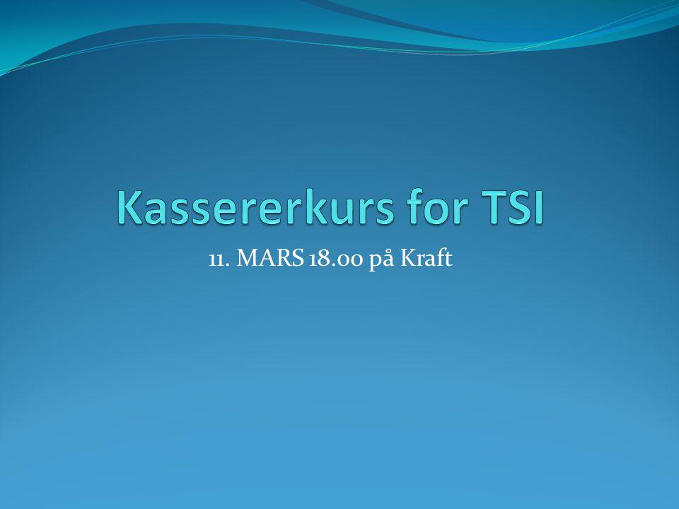 11. MARS 18.00 på Kraft