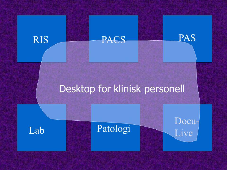 RISPACS PAS Docu- Live Lab Patologi Desktop for klinisk personell