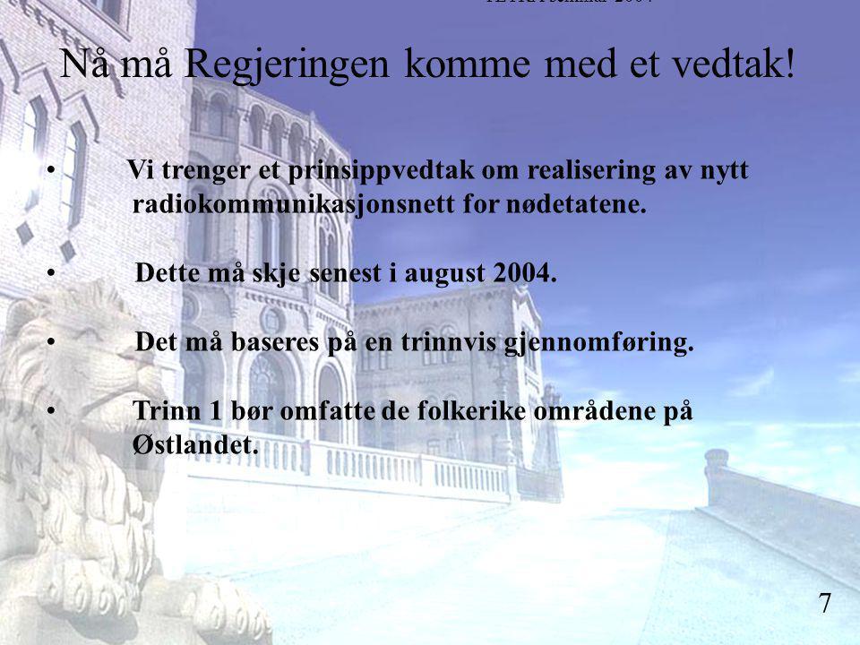 Stortingsrepresentant Einar Holstad, KrF 7 Nå må Regjeringen komme med et vedtak.