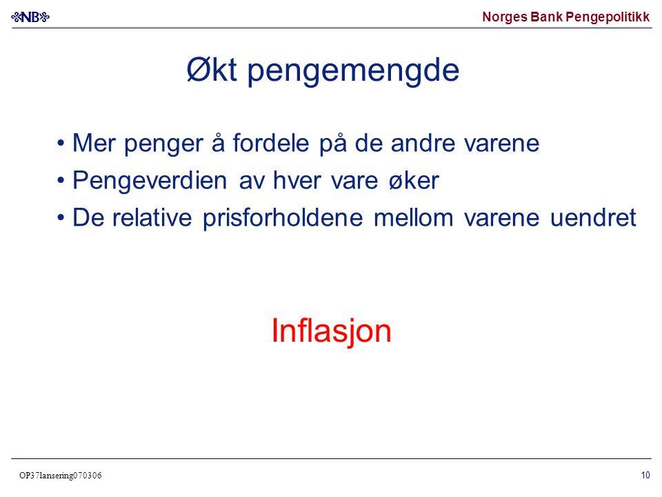Norges Bank Pengepolitikk OP37lansering070306 11 Norske konsumpriser og tilgangen på sølv i Europa på 1500-tallet (Konsumpriser venstre akse, indeks 1550=100.