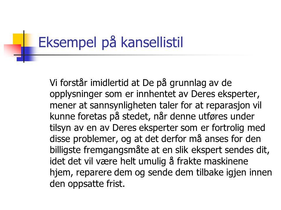 Talemålsnær syntaks  Viktig for Aasen og Knudsen å lage et mer talemålspreget språk.