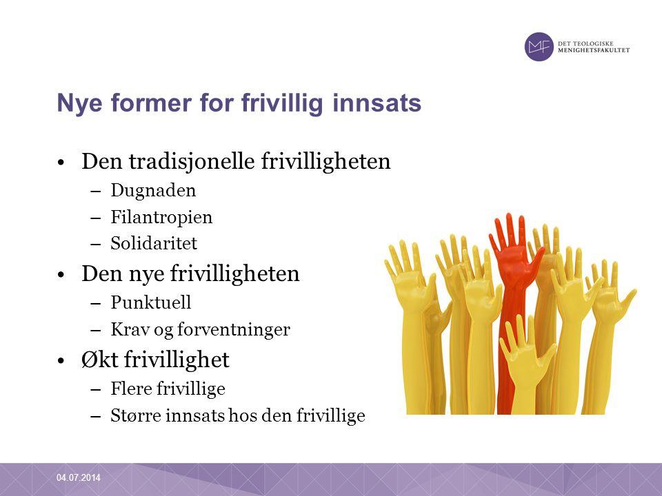 Å forske på trosopplæring og frivillighet •Bakgrunn –Politisk: samhandlingsreform, kirkereform osv.