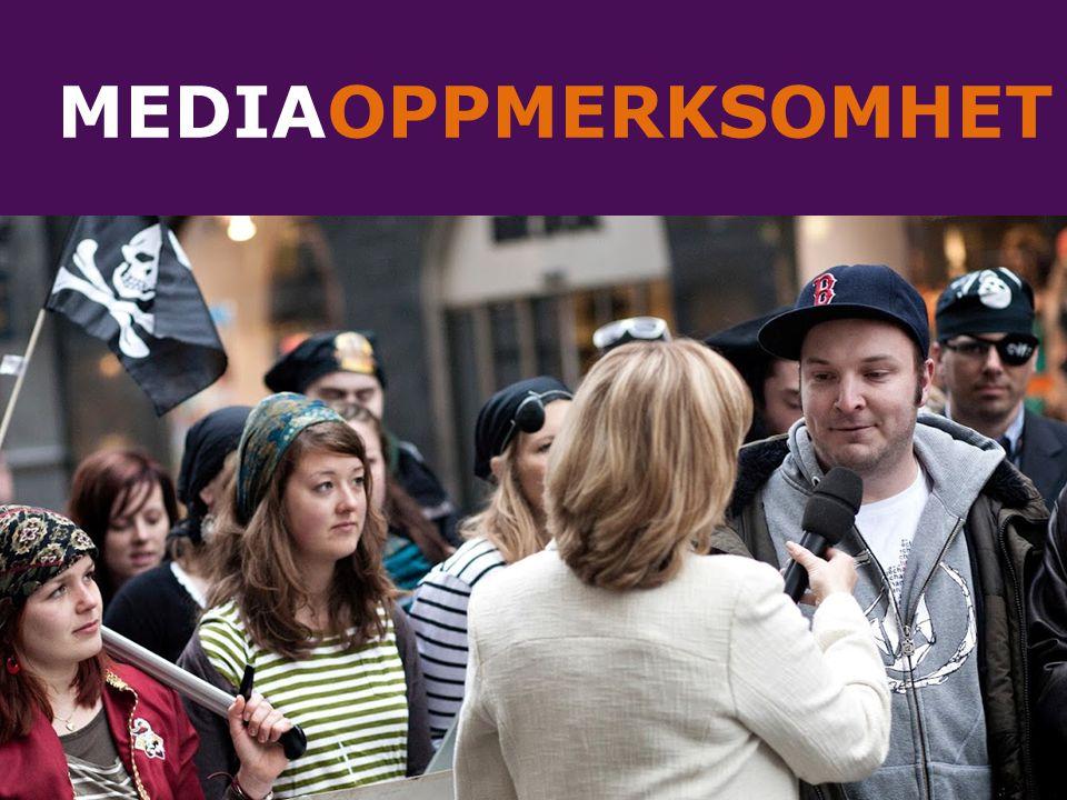 MEDIAOPPMERKSOMHET
