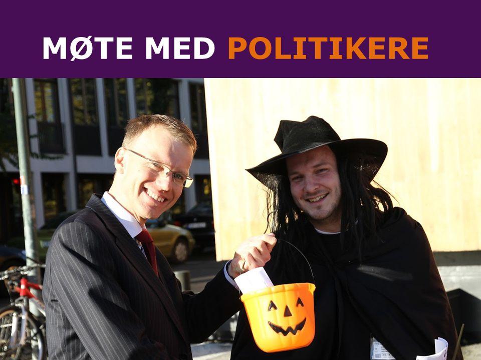 MØTE MED POLITIKERE