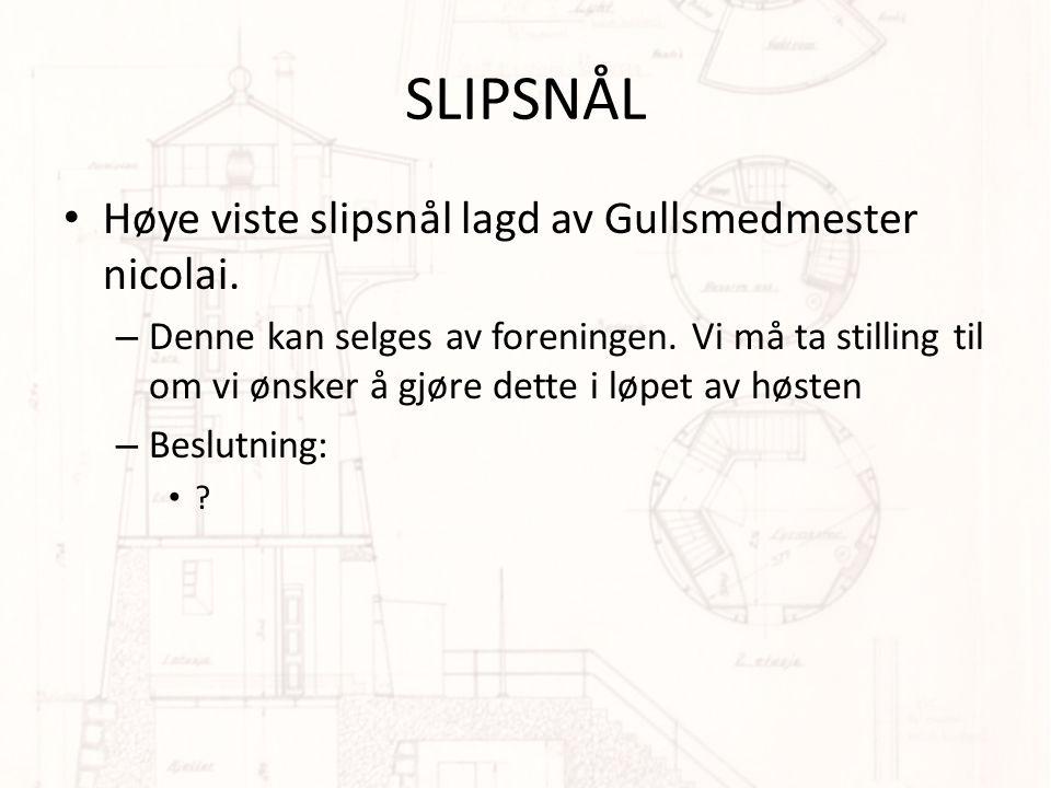 SLIPSNÅL • Høye viste slipsnål lagd av Gullsmedmester nicolai.