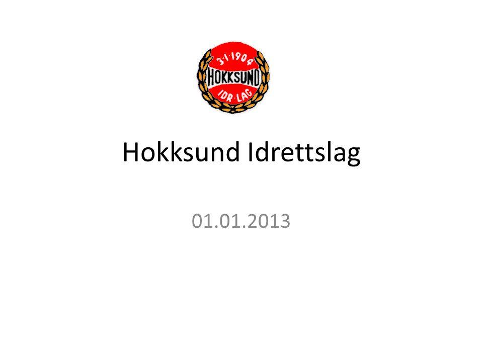 Hokksund Idrettslag 01.01.2013